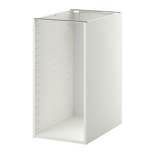 Metod Structure Element Bas Blanc 40x60x80 Cm Ikea Projets Bois Et Element Bas