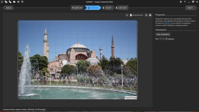 Image Composite Editor: Panoramabilder erstellen©COMPUTER BILD