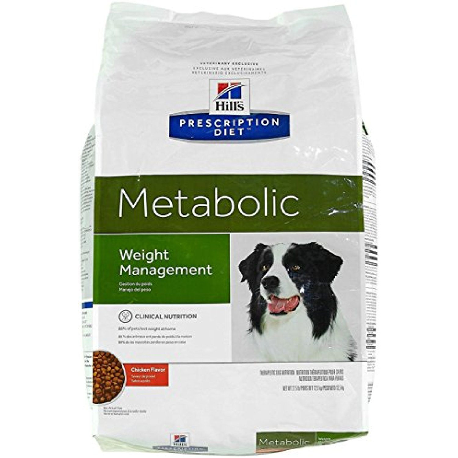 Hill's Prescription Diet Metabolic Canine Dry Dog Food, 27
