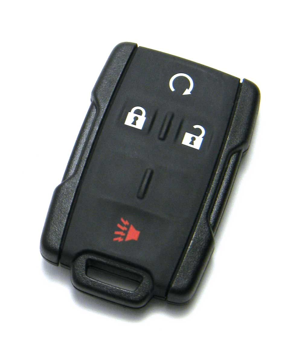 4 Button Smart Key Fob Remote Silicone Rubber Protective Cover