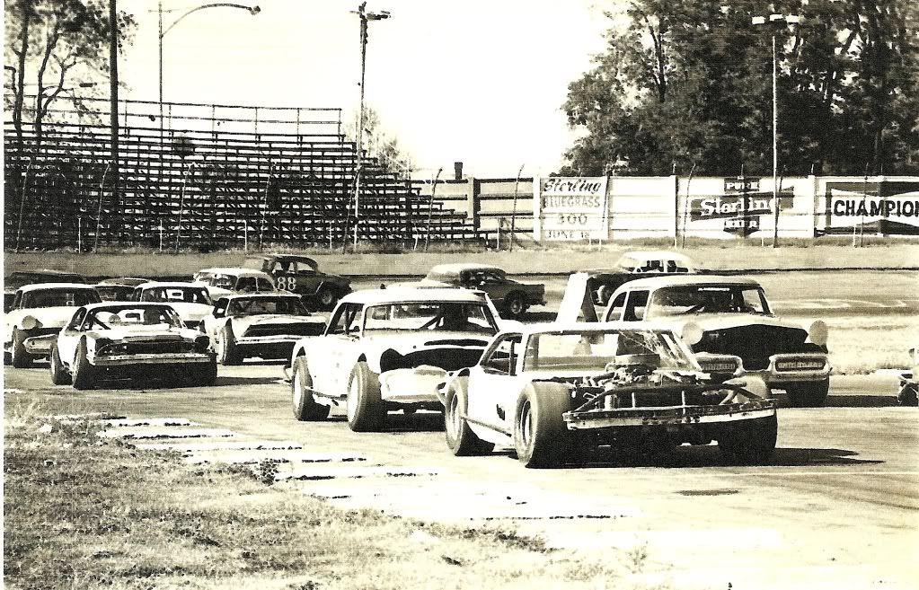 Fairgrounds Motor Speedway, Louisville, Ky.1950's?