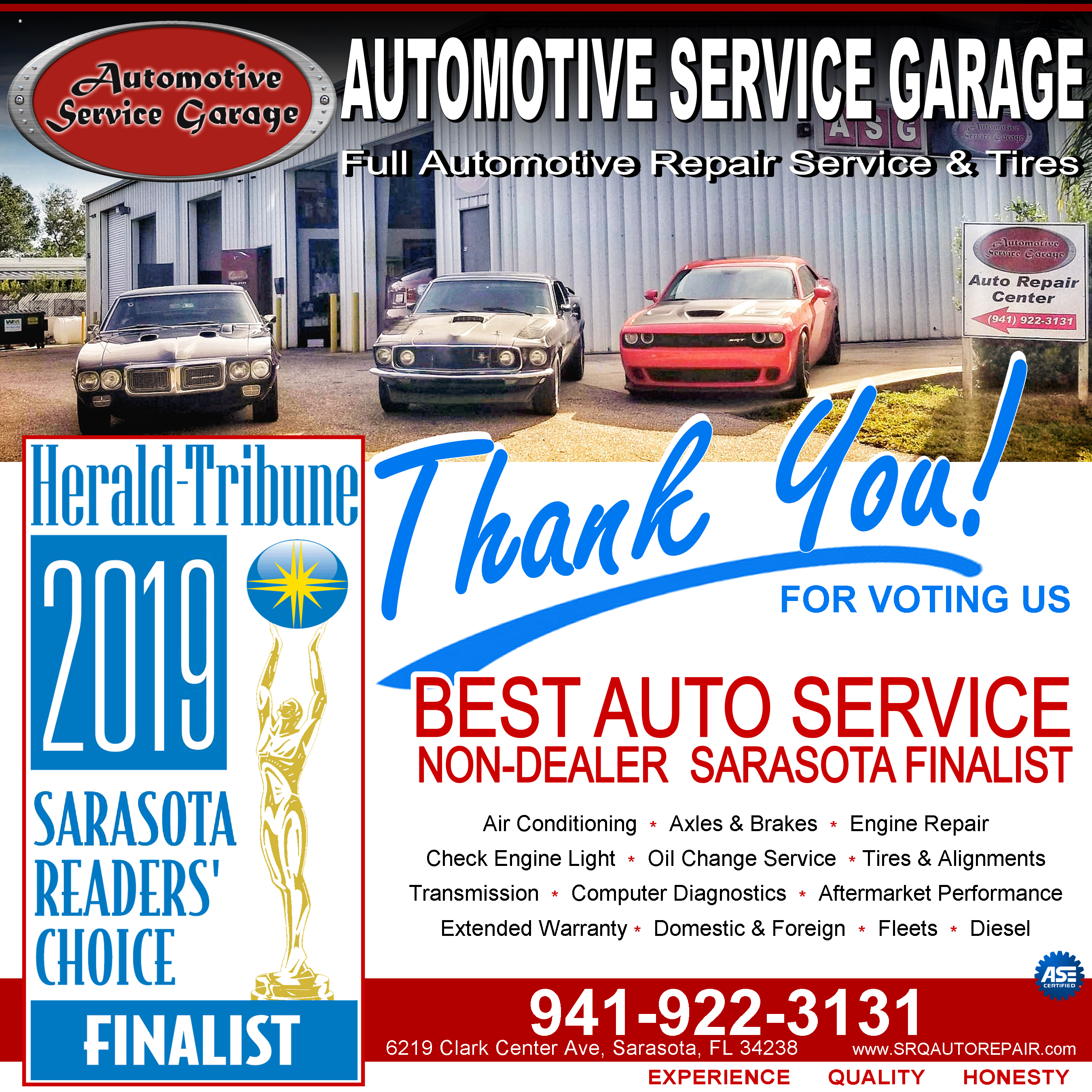 Sarasota Car Dealerships >> Automotive Service Garage 6219 Clark Center Avenue