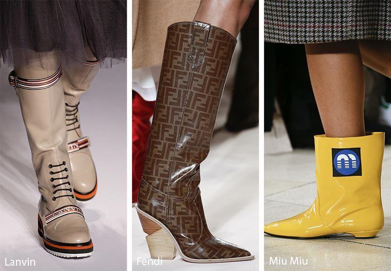 Fall Winter 2018 2019 Shoe Trends | Runway shoes, Fashion