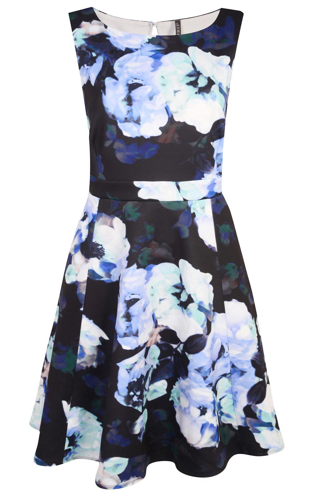 Wedding day guest dresses  This blue floral summer wedding guest dress from Evans  will