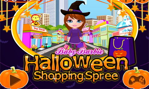 Pin By Car Games On العاب بنات Barbie Halloween Halloween Shopping Baby Barbie
