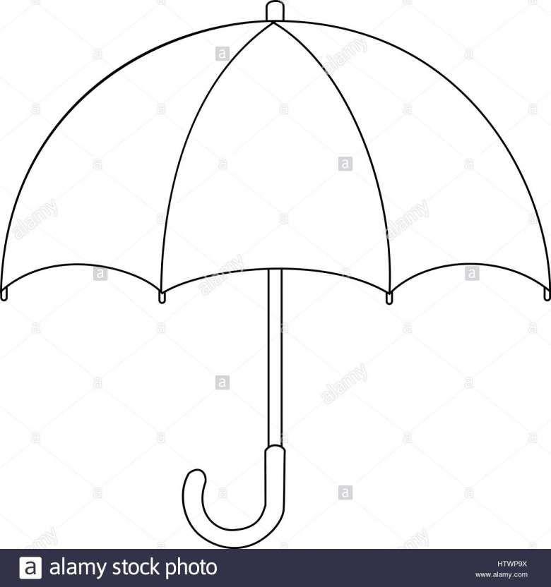 16 Umbrella Cartoon Drawing Cartoon Drawing Drawingpencilwiki Com Anak