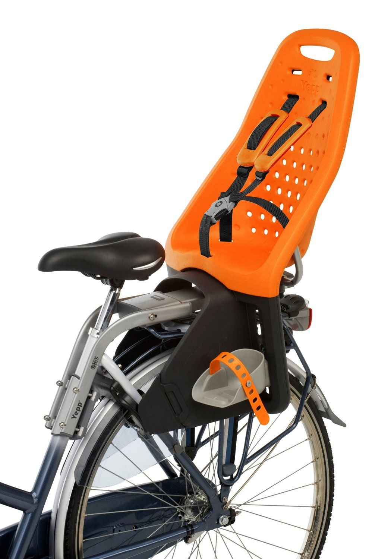 Amazon Com Yepp Gmg Maxi Bicycle Child Seat Orange Bike Child Seats Sports Outdoors Child Bike Seat Kids Bicycle Bicycle Child Seats