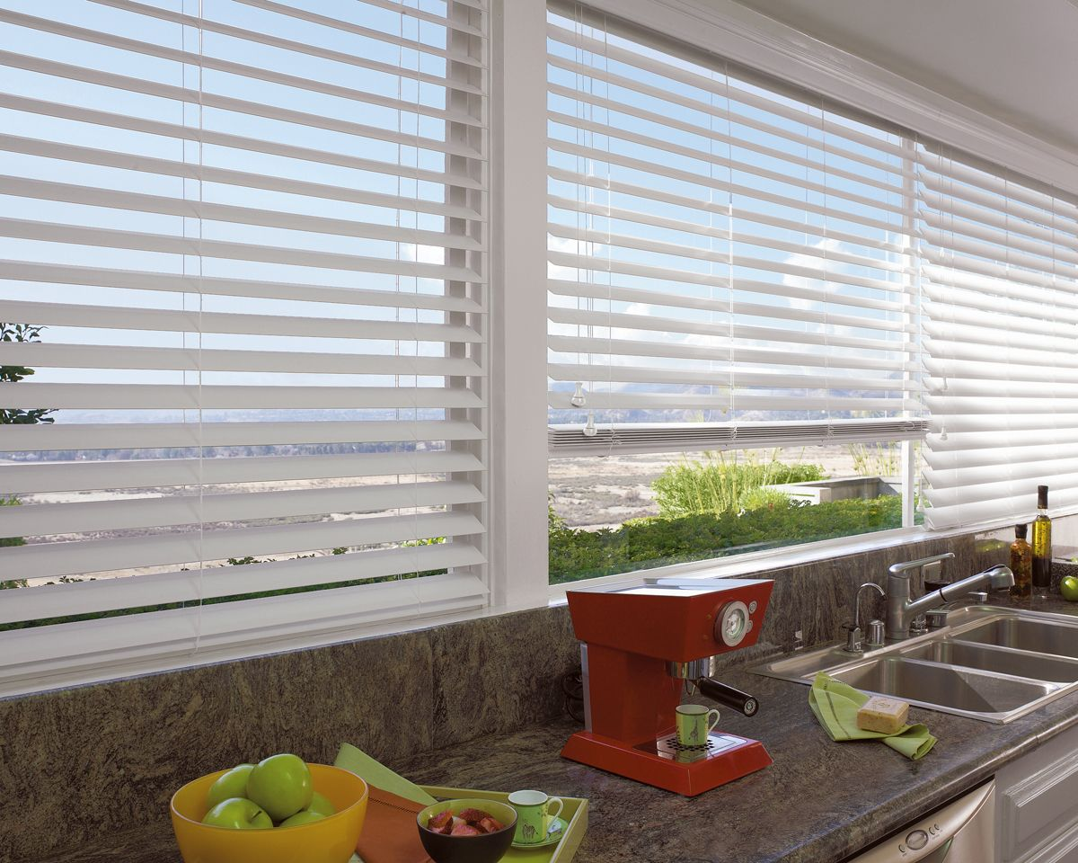 White wood blinds asta boutique interiors windows pinterest