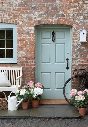 Décoration maison  51 idées pour rebooster votre déco Country - peinture de porte de garage