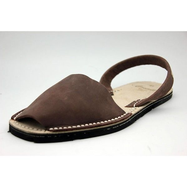 6369fa1521a Menorcan Avarca leather with recycled tire soles and leather template.  Handmade in Spain by CASTELL