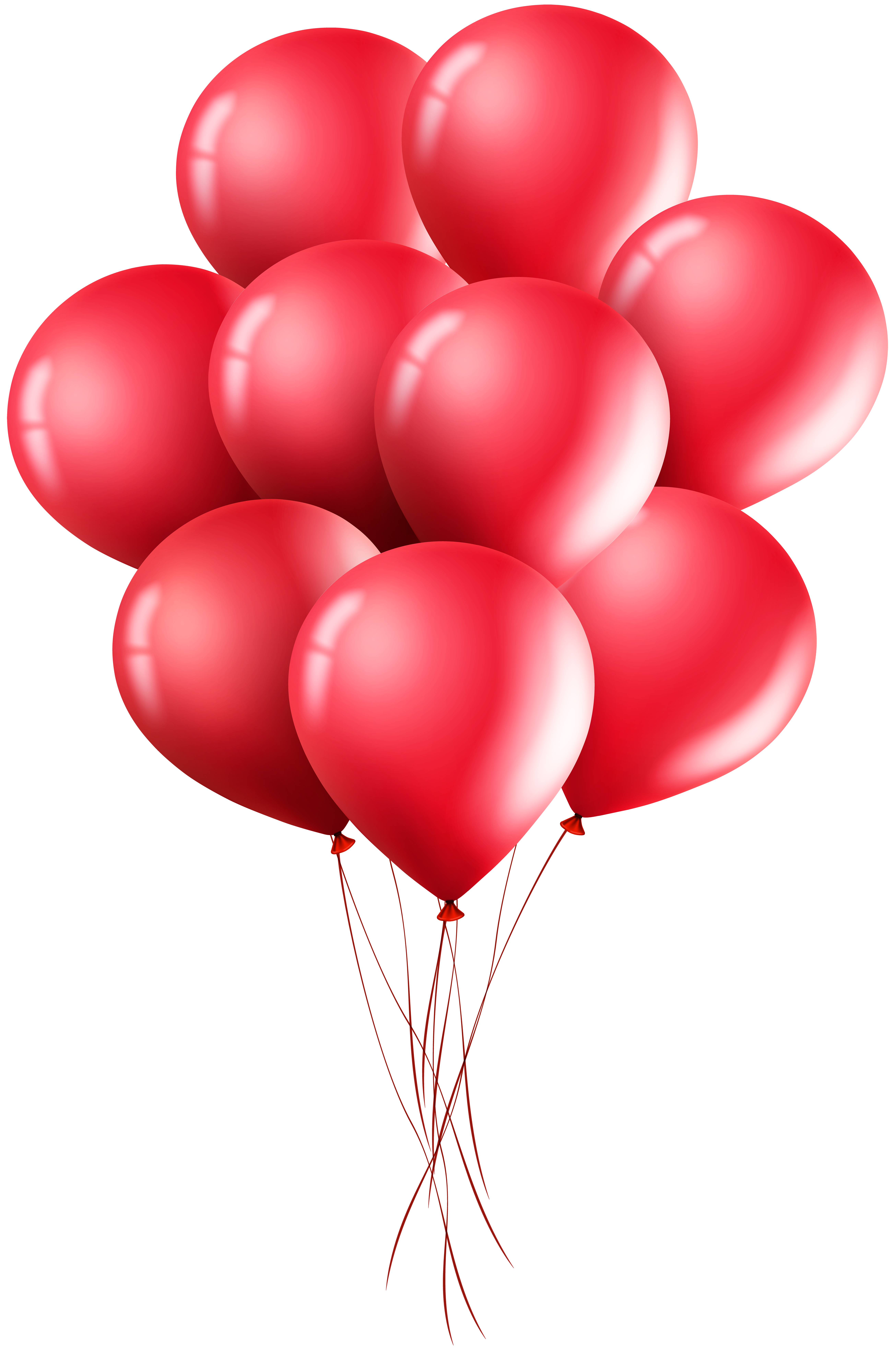 Red Balloons Png Clip Art Image Gallery Yopriceville High Quality Images And Transparent Png Free Clipart Red Balloon Clip Art Birthday Photo Frame