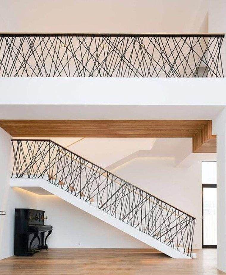 id e de rampe d 39 escalier en metal et design moderne. Black Bedroom Furniture Sets. Home Design Ideas