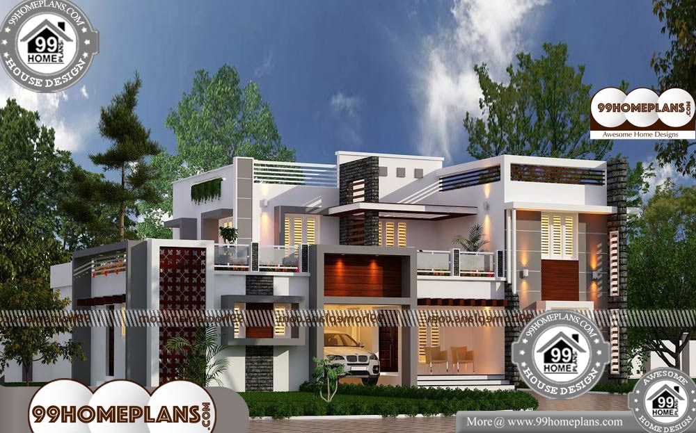 Shallow Lot House Plans 85 Two Storey House Plans With Balcony Ideashallow Lot House Plans With 2 Story House Plans With Balcony Having 2 Floor 5 Total Bedr