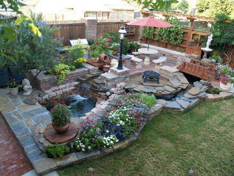50 Admirable Small Garden Backyard Aquariums Ideas Garden Backyardgarden Backyardideas Small Garden Backyard Garden Backyard