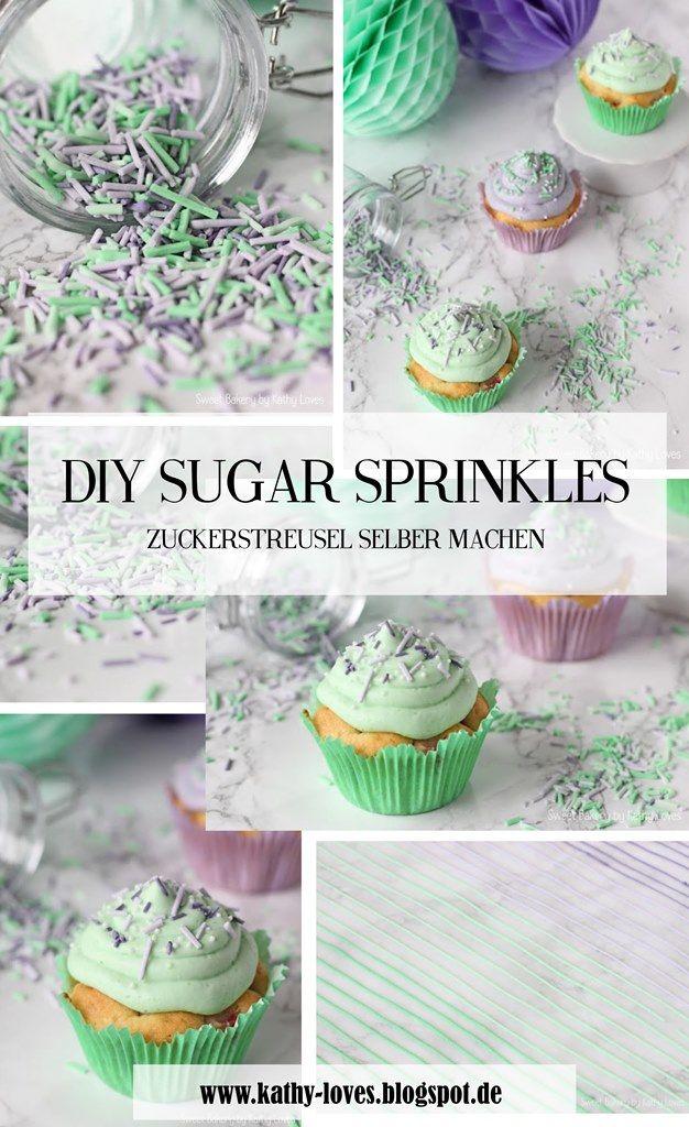 DIY Sugar Sprinkles Do It Yourself Easy Geschenke aus der Küche - geschenk aus der küche