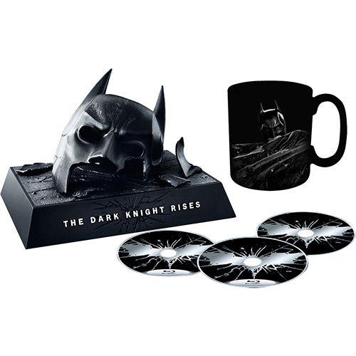 Kit Blu Ray Batman O Cavaleiro Das Trevas Ressurge Edicao De