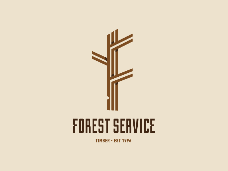 Logo For Sawmill Forest Service Forest Logo Logos Forest Service