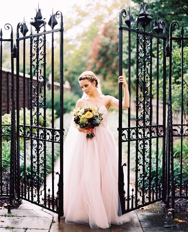 abdfe9e8cf9d 7 Brides Who Didn't Wear White   Wedding Dresses   Colored wedding ...