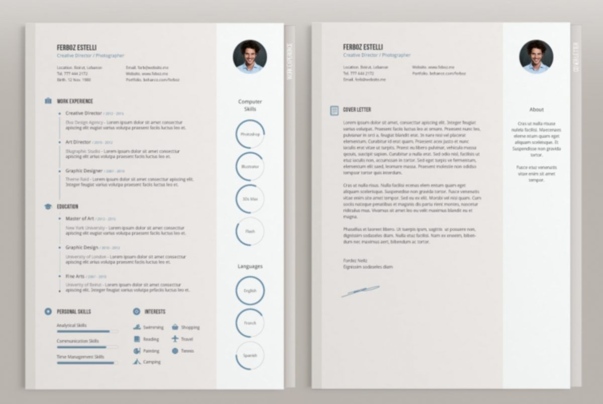 Cover Letter Template Indesign The 10 Secrets You Will