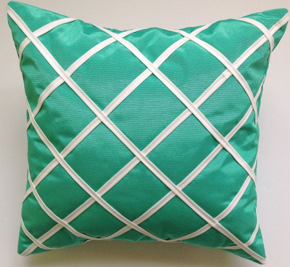 Decorative 16x16 Throw Pillow Cover by ThrowPillowElegance