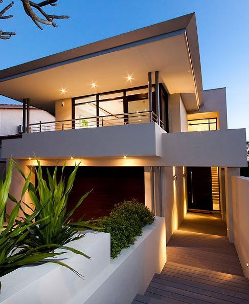 Simple House Exterior Design: Modern Architecture