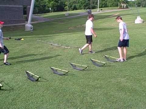 Off Ice Summer Hockey Workout 1 Youtube Hockey Training Hockey Workouts College Hockey