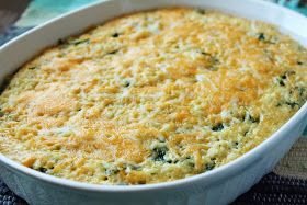 Cheesy Baked Quinoa and Spinach