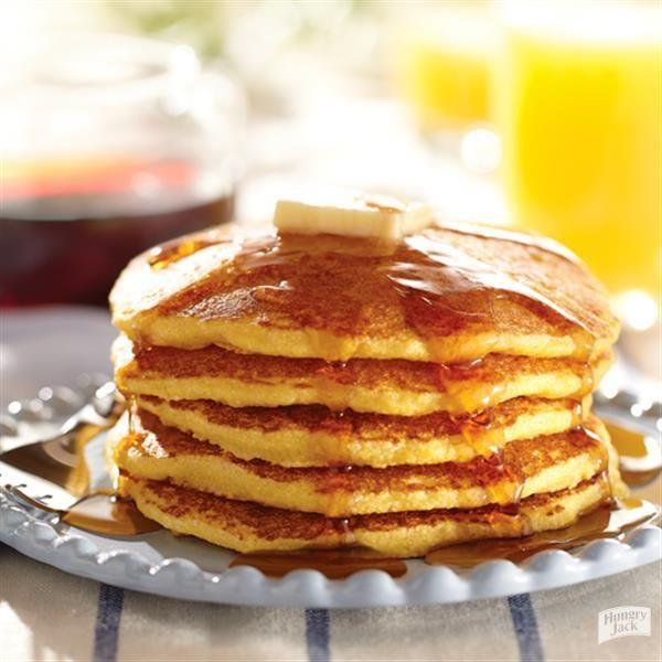 Country Cornmeal Pancakes