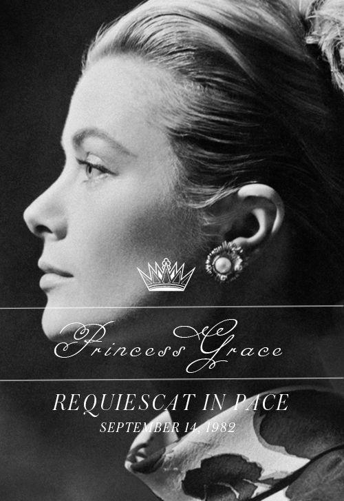 Maravilloso perfil de Grace Kelly
