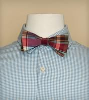 Love the hand knotted and hand made bowtie.