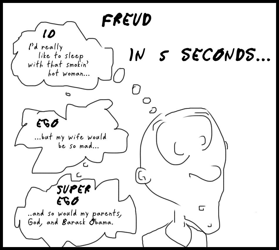 the freudians theory of id ego and superego in the movie the bad seed Absence of the more mature oedipus complex and superego described in freudian ego psychology does not mean the absence of either preoedipal triangular conflict or an archaic superego in psychopathy.