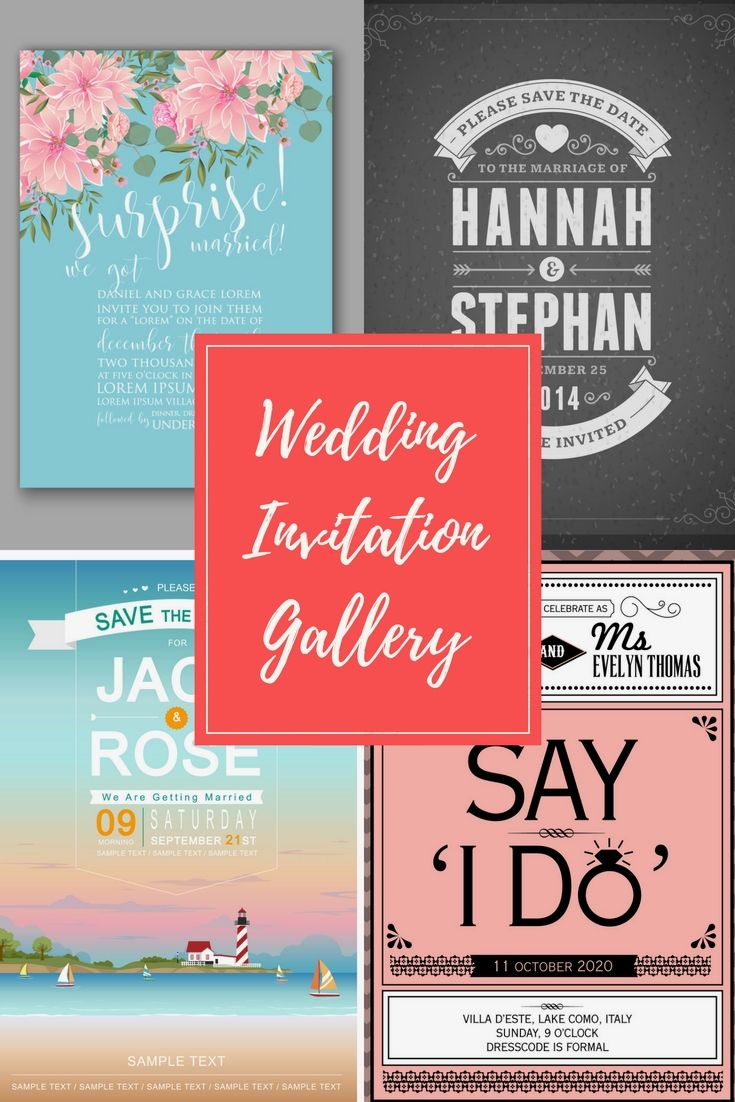 22 Absolutely Special, Up-To-Date And Low-Budget Wedding Invitation ...