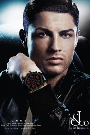 Cristiano Ronaldo Fronts New Jacob & Co  Watch Campaign