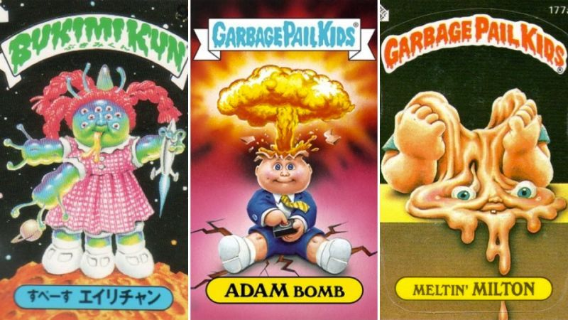 Rarest And Most Expensive Garbage Pail Kids Cards Ever Made With
