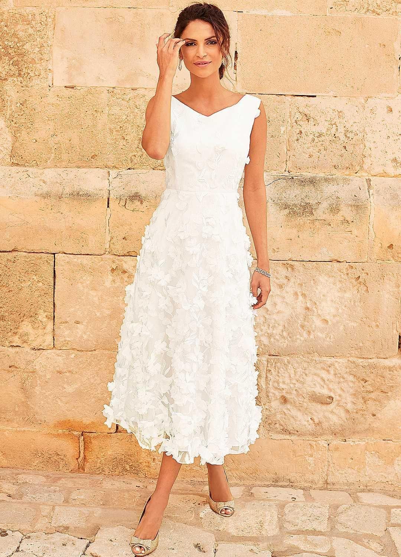 Daisy Applique Floral Bridal Prom Dress Retro wedding