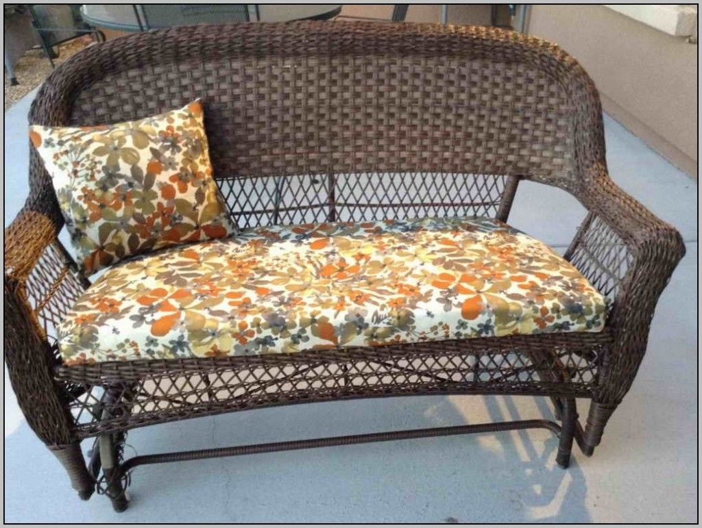 Patio Seat Cushion Covers Patio seat cushions, Outdoor