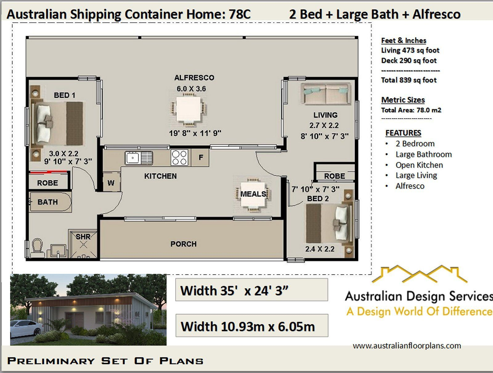 Ship Container house plans Best Selling House Plan for