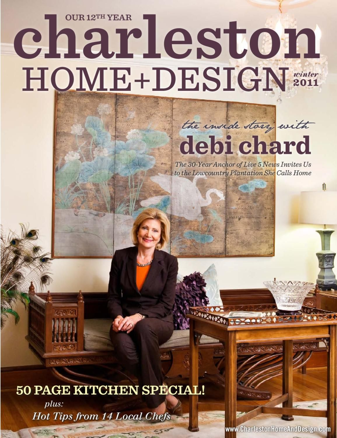 Charleston Home + Design Magazine   Winter 2011