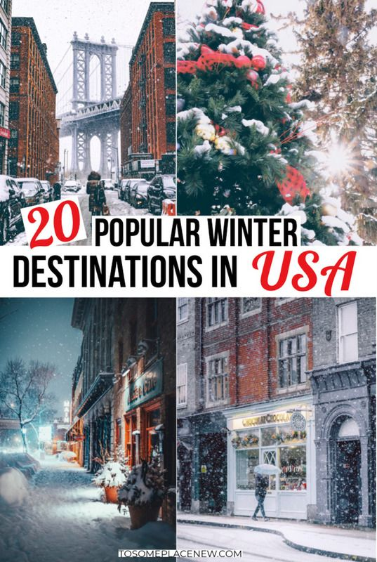 Photo of 20 Best Winter Destinations in USA for every traveler