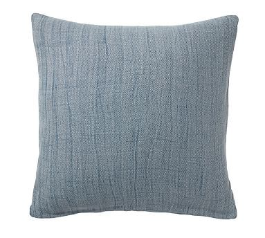 Stonewash Herringbone Pillow Cover Potterybarn Living