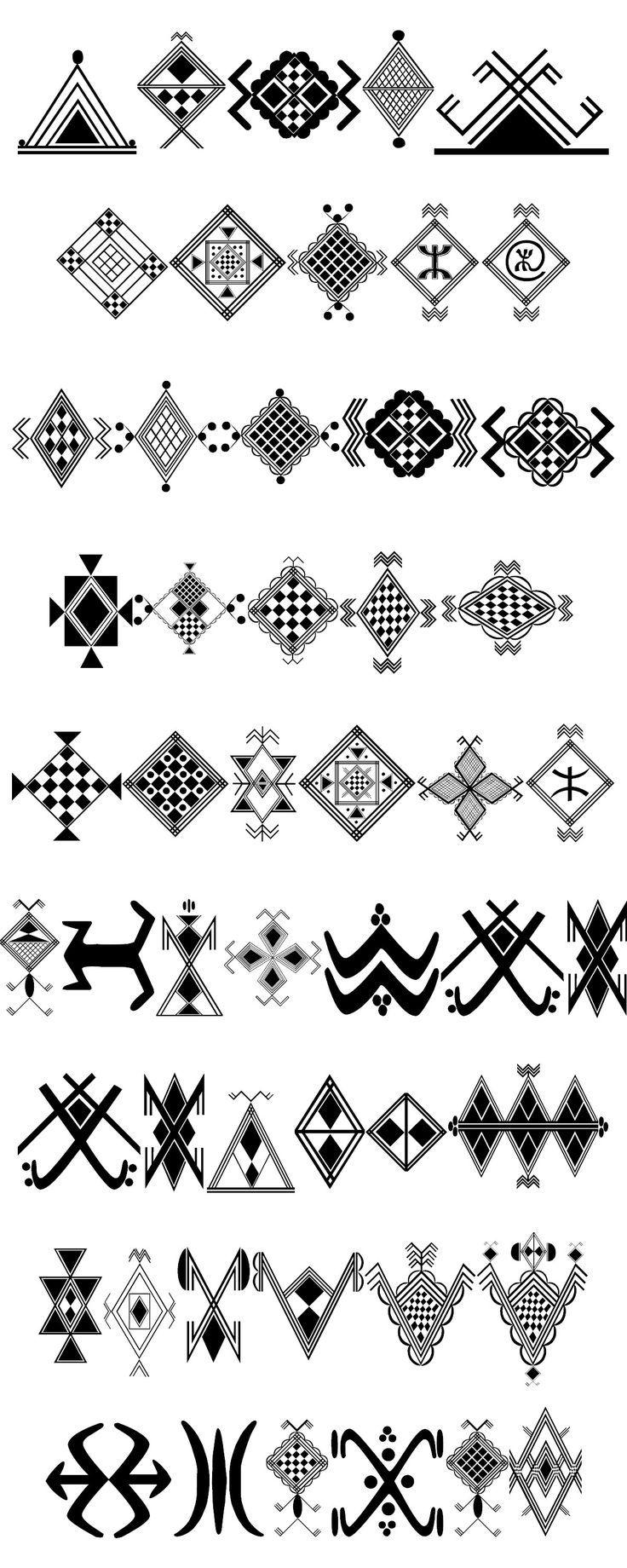 Berber symbols google search north africa ouled nail tuareg berber symbols google search biocorpaavc