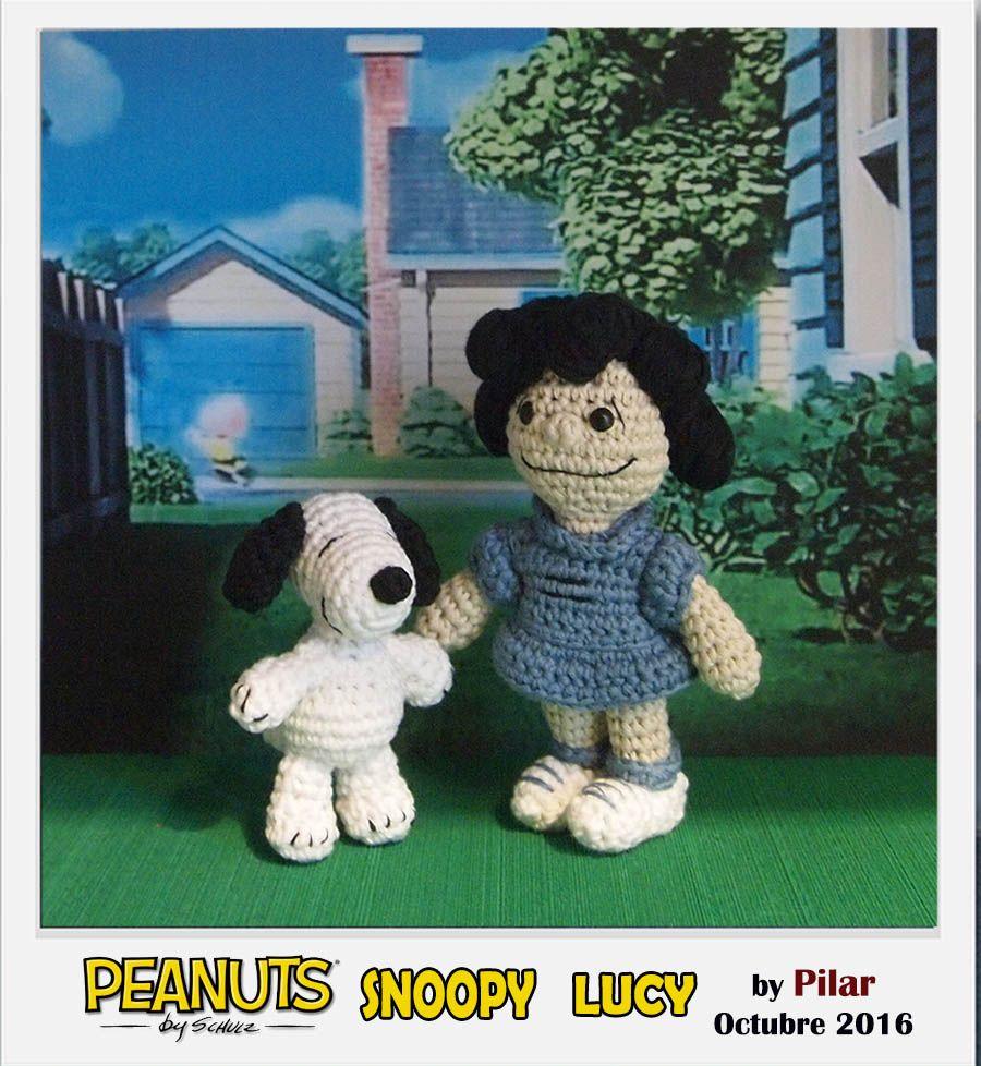 #amigurumy Lucy Snoopy #Peanuts
