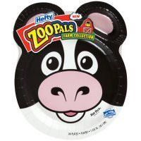 Hefty Zoo Pals Variety Pack Plates By C Wholesale 8 25 One Pack