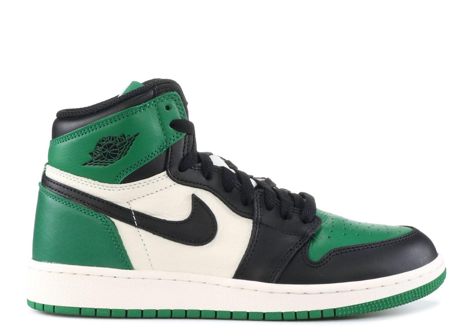 online retailer 02815 7bf57 Jordan 1 Mid Pine Green (GS)
