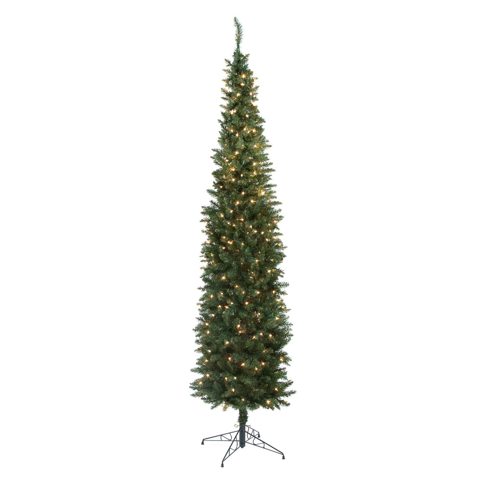 c65319bd4b9 Have to have it. Classic Pine Pre-lit Pencil Christmas Tree  99.98 ...