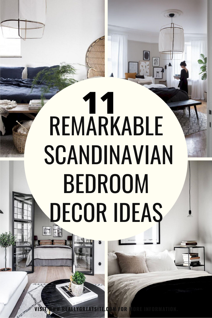 11 Remarkable Scandinavian Bedroom Decor Ideas Scandinavian Bedroom Decor Scandinavian Bedroom Bedroom Decor