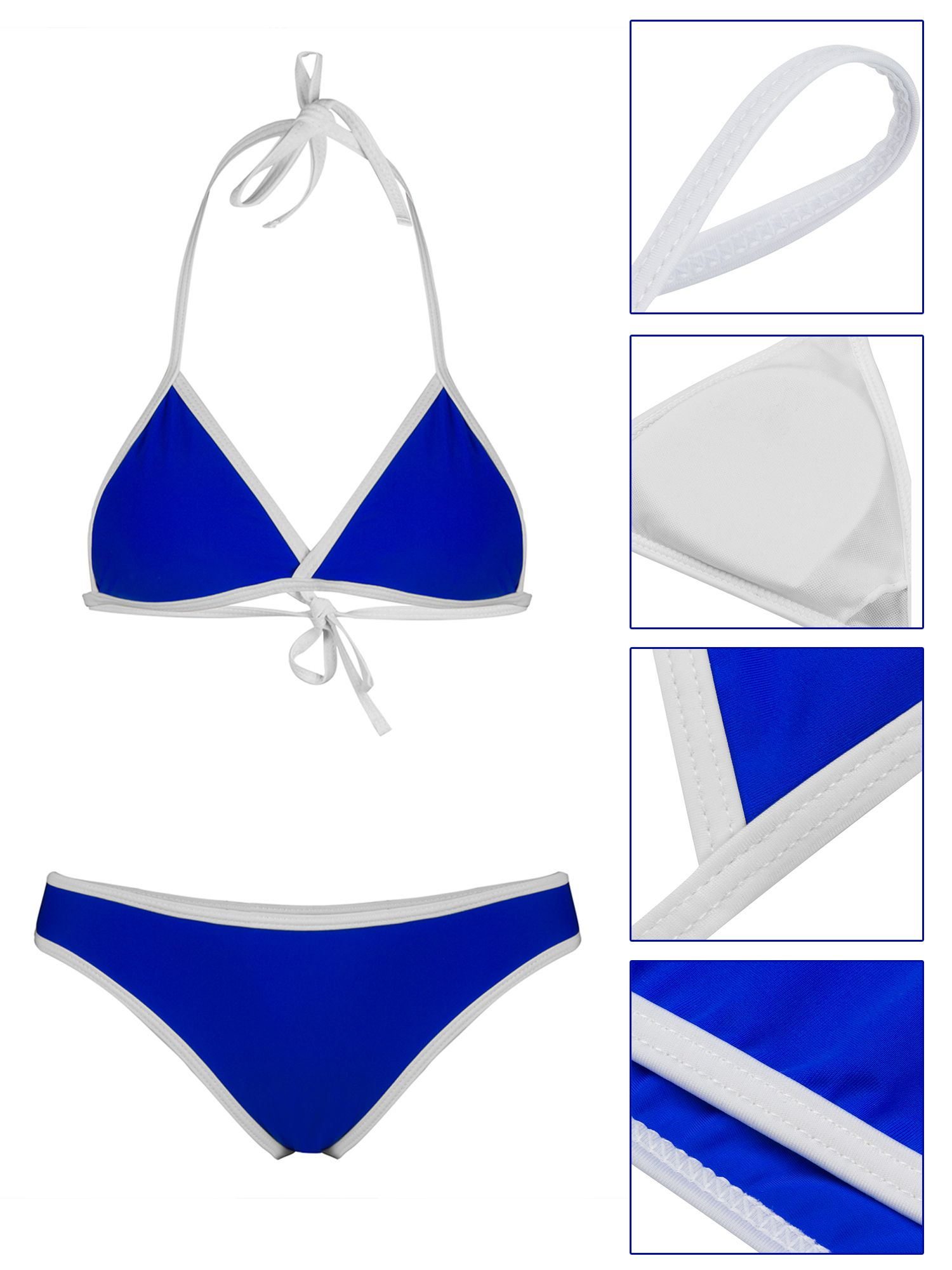 74e5d7faab98d Phoebe Cat Womens Swimwear Bikini Set for Summer Beach, Summer Two Piece  Bandage Push-Up Padded Swimsuits for Women, P2882AGM Two Piece Bathing  Swimwear ...