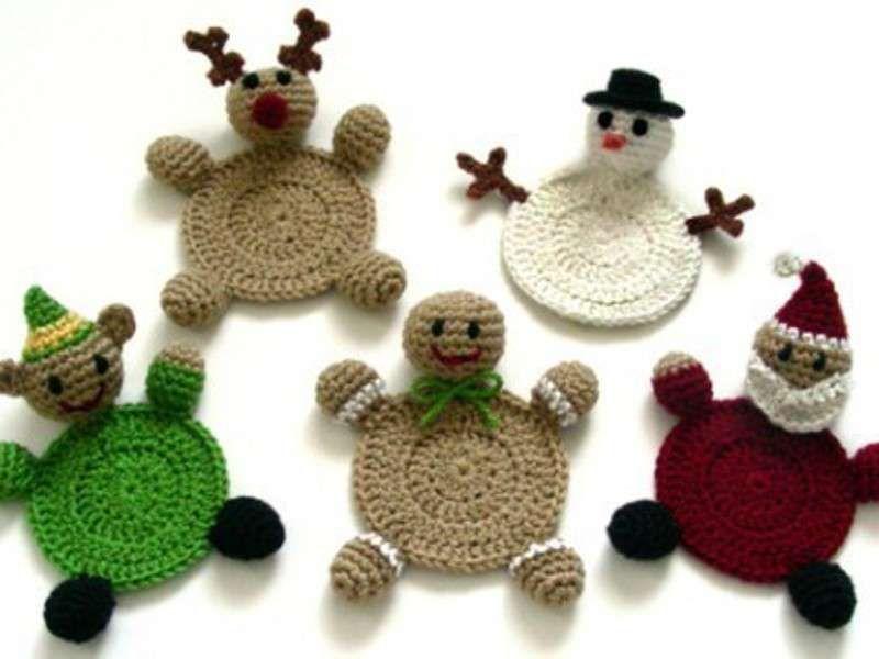 Regali Di Natale Fai Da Te Uncinetto.Regali Natale Fai Da Te Uncinetto Sanzoni Di Natale