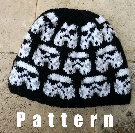This Is A Listing For Knitting Pattern Star Wars Stormtrooper