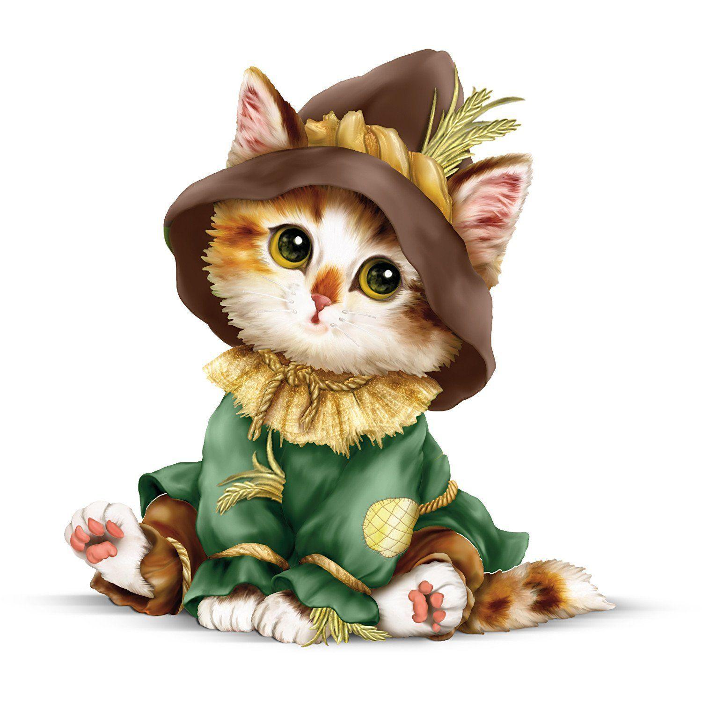 Kayomi Harai Kitten Off To See The Wizard Oz Scarecrow